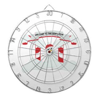 The North Pole Dartboard With Darts