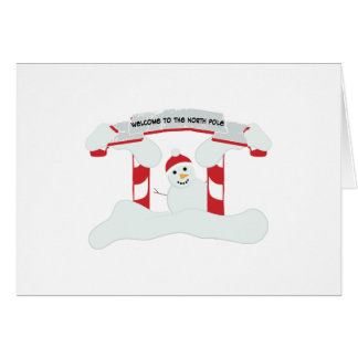 The North Pole Greeting Cards