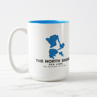 The North Shore Sea Lion Beverage Container Two-Tone Coffee Mug