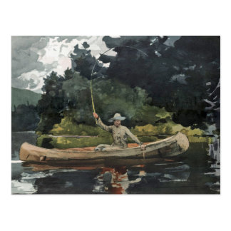 The North Woods by Winslow Homer Postcard