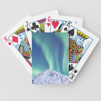 The Northern Lights Bicycle Playing Cards