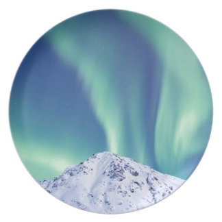 The Northern Lights Party Plate