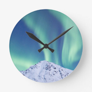 The Northern Lights Wall Clock