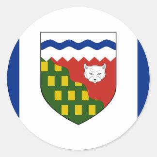 the Northwest Territories, Canada Classic Round Sticker