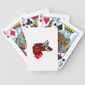 THE NORTHWESTERN PROTECTOR BICYCLE PLAYING CARDS