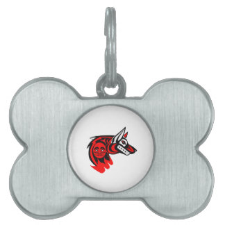 THE NORTHWESTERN PROTECTOR PET ID TAG