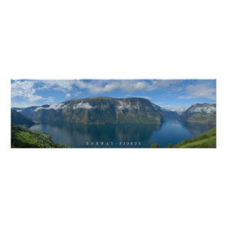 The Norway Fjords Poster