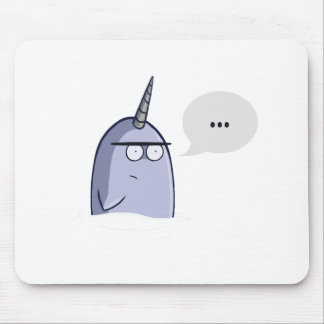 The Nothing Narwhal Mouse Pad