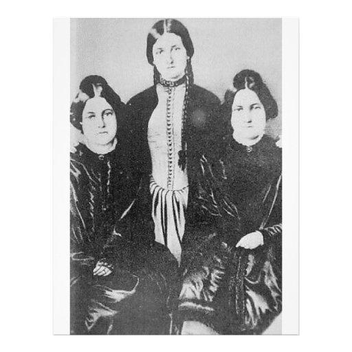 The Notorious Fox Sisters Flyer