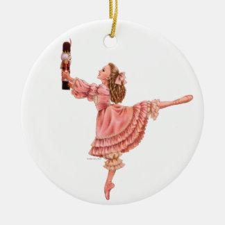 The Nutcracker Ballet Round Ornament