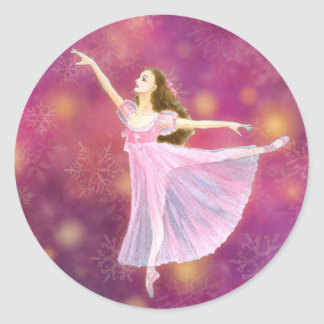 The Nutcracker Ballet Sticker - Clara