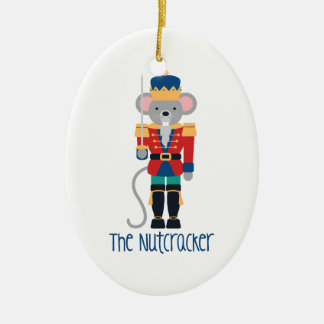 The Nutcracker Ceramic Ornament
