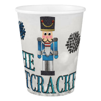 The Nutcracker Christmas PAPER CUPS