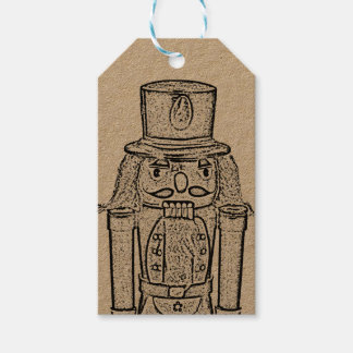 The Nutcracker customisable Pack Of Gift Tags