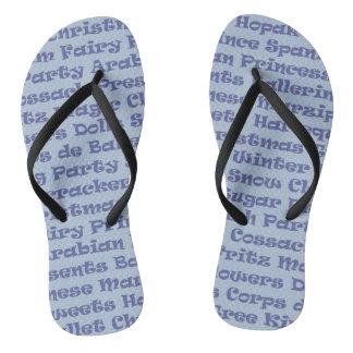 The Nutcracker Flip Flops