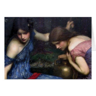 The Nymphs Finding Orpheus Card