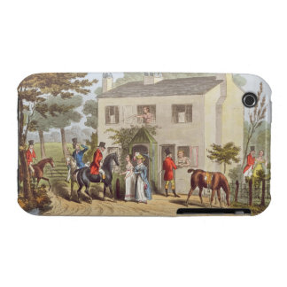 The Oakland Cottages, Cheltenham, or Fox Hunters a Case-Mate iPhone 3 Case