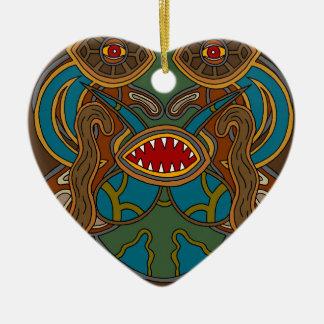 The Oasis Ceramic Ornament