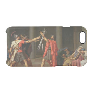 The Oath of Horatii, 1784 Clear iPhone 6/6S Case