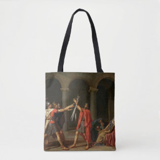 The Oath of Horatii, 1784 Tote Bag