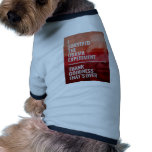 The Obama Experiment Doggie Shirt