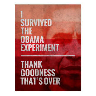 The Obama Experiment Postcard