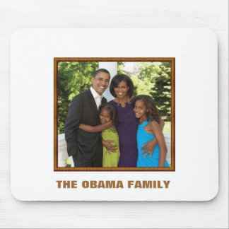 THE OBAMA FAMILY - Customized Mouse Pad