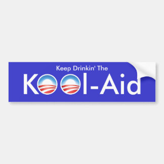 The Obama Kool-Aid Bumper Sticker