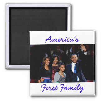 The Obamas: America's 1st Family Magnet