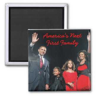 The Obamas: America's Next 1st Family Magnet