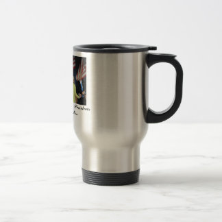 The Obama's& Bidens 15 Oz Stainless Steel Travel Mug