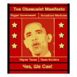 The Obamunist Manifesto Poster