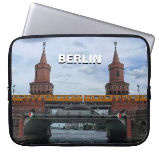 The Oberbaum Bridge 01.T, BERLIN Laptop Sleeve