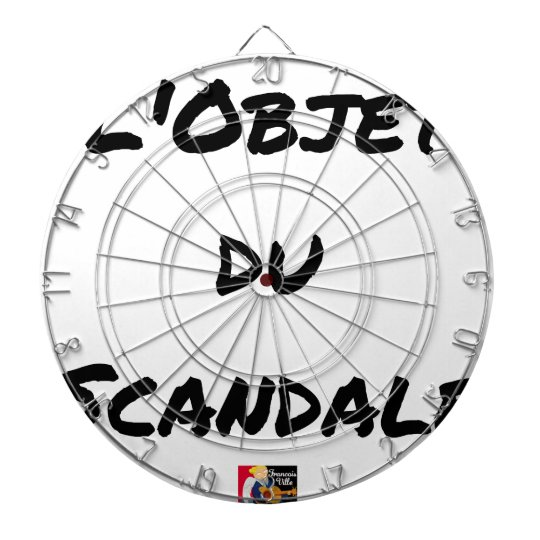 The OBJECT OF the SCANDAL - Word games - François Dartboard