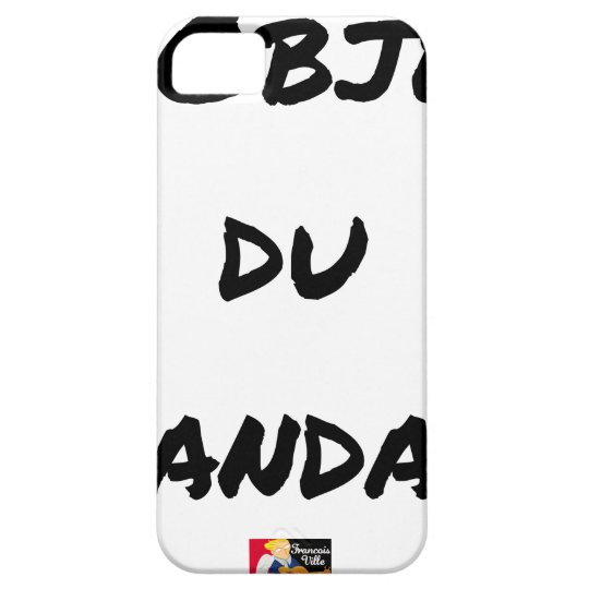 The OBJECT OF the SCANDAL - Word games - François iPhone 5 Cases