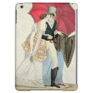 The Obliging Umbrella, plate 40 from 'Le Bon Genre iPad Air Cases