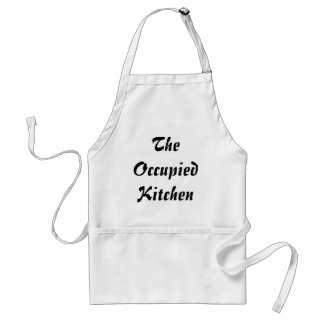 The Occupied Kitchen (Occupy Wall Street) Standard Apron