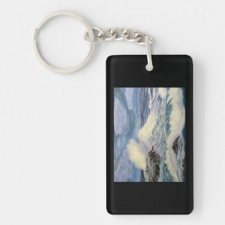 The Ocean - A Force of Nature Keychain