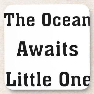 The Ocean Awaits Little One Coaster