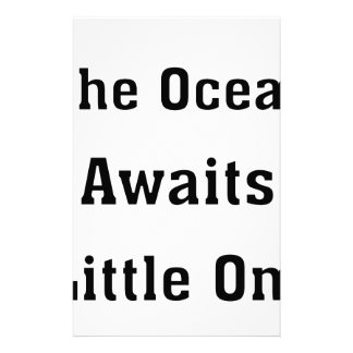 The Ocean Awaits Little One Stationery
