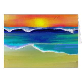 The Ocean Dance Card