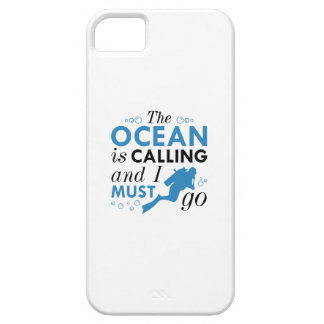 The Ocean Is Calling iPhone 5 Covers