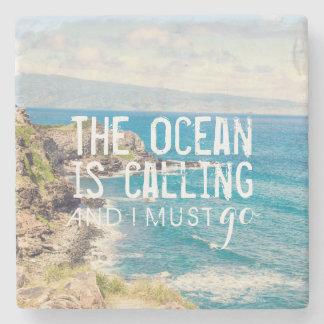 The Ocean is Calling - Maui Coast | Stone Coaster