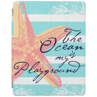 The Ocean is my Playground iPad Cover