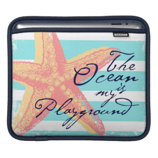 The Ocean is my Playground iPad Sleeve