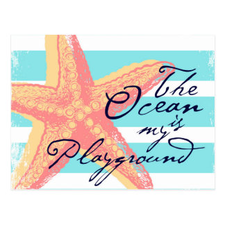 The Ocean is my Playground Postcard