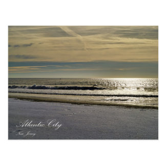 The Ocean of Atlantic City Postcard
