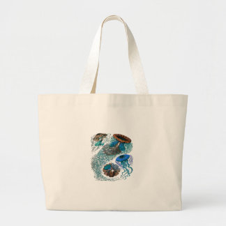 THE OCEAN PULSE LARGE TOTE BAG