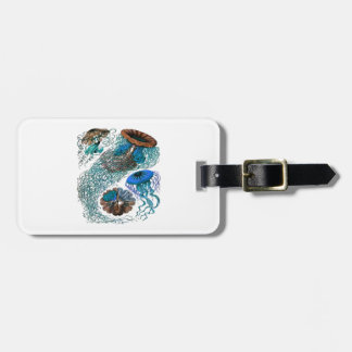 THE OCEAN PULSE LUGGAGE TAG