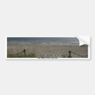 The Oceanfront View Bumper Sticker
